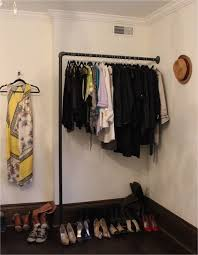 black pipe clothing rack by danielle bryk
