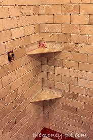 master bathroom week 5 installing shower shelves the way the kim six fix