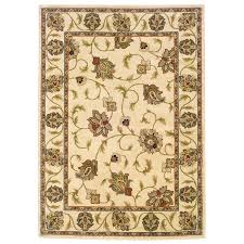 oriental weavers of america addison ivory rectangular indoor woven nature area rug common 4