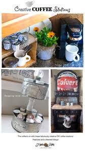 creative diy coffee stations easy to create diy ideas to serve up coffee in style unique diy coffee station