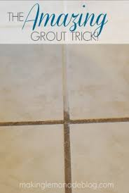 how to whiten grout.  Grout AMAZING Trick For Cleaning Your Grout Using Two Things You Probably Have In  Kitchen Right Inside How To Whiten Grout O