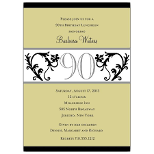 Wording For 90th Birthday Party Invitations Angelthairiverside Com
