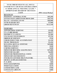 Church Budget Template Excel Church Budget Spreadsheet 8 Template Credit Excel Free
