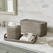 Bathroom accessories Green Crate And Barrel Tissue Box Covers Crate And Barrel