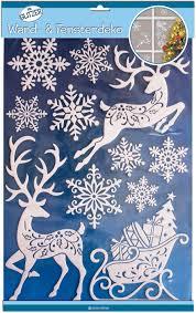 Wand Xxl Fensterdeko Weihnachten Rentier