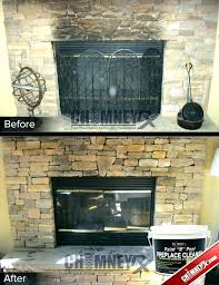 how to clean fireplace bricks how to clean bricks around fireplace how to clean fireplace brick