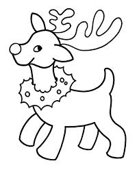 Christmas Coloring Sheets Printables Easy Pre K Christmas