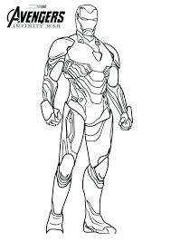 Iron Man Color Page Coloring Page Coloring Logo Coloring Pages Iron