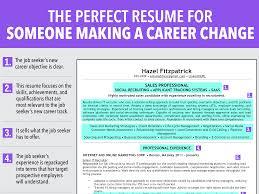 Resume Profile For Career Change Resume Work Template