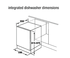 standard dishwasher dimensions.  Dishwasher Standard Dishwasher Height Opening Size   Throughout Dimensions I