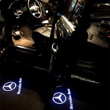 Mercedes Benz Puddle Lights Not Working Ihex Auto Car Door Led Light Projector Ghost Shadow Lights Welcome Lamp For Mercedes Benz Acessories Cls Cla Clk Classe W218 W218 C207 A207 Series 4