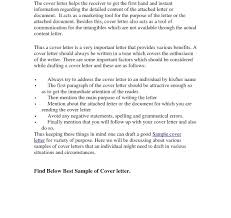 Cover Letter Write Good Resume Cv Marketing Examples Example For
