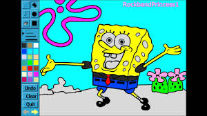 Small Picture Spongebob Paint and Color Games Online Spongebob Painting Games