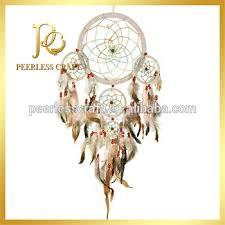 Cherokee Indian Dream Catchers Best 32 Tiered Beige Cherokee Indian Dream Catcher Feather Dream Catcher