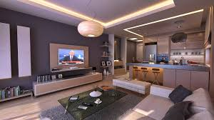 Open Kitchen Living Room Design Stunning Kitchen And Living Room Designs With Additional