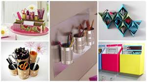 diy office supplies. 16 Fascinating DIY Ideas To Organize Your Office Supplies - Http://www. Diy G