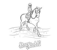 13 Horse Lineart Star Stable For Free Download On Ayoqq Cliparts