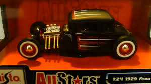Maisto bankas i lithuanian food bank. 1929 Ford Model A Maisto All Stars Die Cast Black Youtube