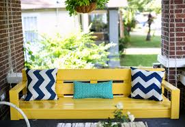 How To Build A Porch Swing Front Porch Swing Plans Decoto