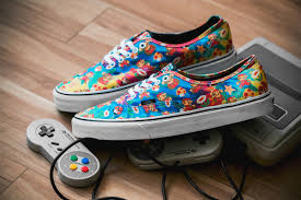vans x nintendo. a closer look at the nintendo x vans footwear collection s