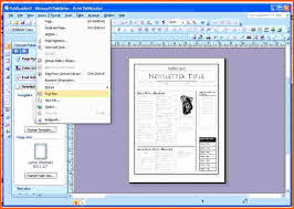 Microsoft Publisher Free Template Fresh Download Free