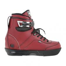 Valo Bs 1 Light Oxblood Boot Only Carbon Fiber Aggressive