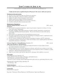 Pharmacist Resume Template Gorgeous Pharmacist Duties Eukutak