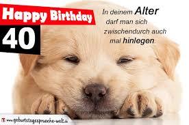 Happy Birthday Zum 40 Geburtstagssprüche