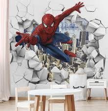 3d wall decal spiderman wall sticker
