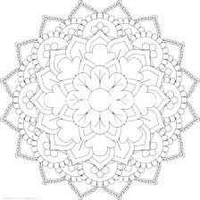 Online Mandala Coloring Pages This Is Life In Bloom A Free Mandala