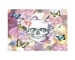 sugar skull rug sugar skull rug throw area rugs woven garden fl erflies rugby caps whole sugar skull rug