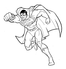 Small Picture Fantastic Superman Coloring Page Superman Pinterest Cartoon