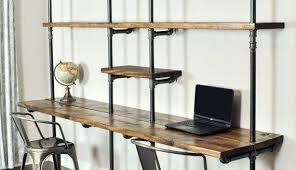 industrial style office desk modern industrial desk. Industrial Desks Furniture Home Office Desk Modern Style With Regard To 18 M