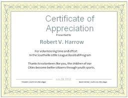 Volunteer Certificate Of Appreciation Templates Certificate Appreciation Design Template