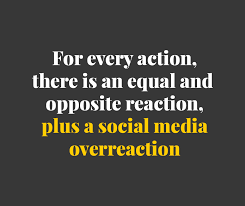 Quotes About Social Media Adorable Social Media OverReaction