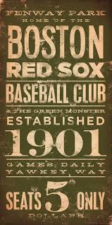 boston red sox baseball club fenway typography graphic word art on canvas 10 x 20 by stephen fowler on boston red sox canvas wall art with boston red sox baseball club fenway typography graphic word art on