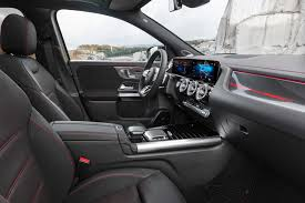 Among its many option packages, we'd choose the $1900 premium package, the $350 smartphone integration package, and the $1650 leather upholstery to make the interior feel a bit more. 2021 Mercedes Benz Gla Class Interior Review Seating Infotainment Dashboard And Features Carindigo Com