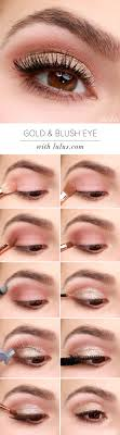 lulus how to gold and blush valentine s day eye makeup tutorial lulus fashion