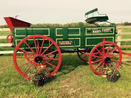 1890 s john deere high wheel box wagon