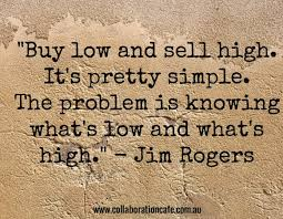 Image result for stock market buy low sell high