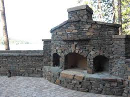 natural stone outdoor fireplaces stone patio ideas for your home flagstone royal oak mi stack installation