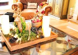christmas fl centerpiece ideas decorations coffee table alongside and train inspired ornament rectangle wood artificial flower arrangement