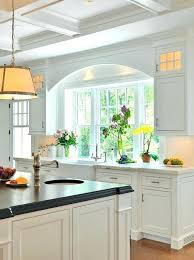 kitchen sink window best ideas on inside over decorating above