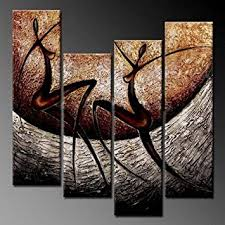 Small Picture Amazoncom Phoenix Decor PC018 Elegant Modern Canvas Art for Wall