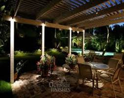 nice outdoor covered patio lighting ideas