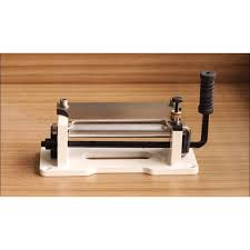 free shiping worldwid by dhl leather skiving machine leather splitter hand control