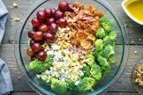 andi s pasta salad w blue cheese broccoli and grapes