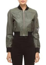 walter de silva walter baker nicole leather er jacket