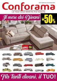 Conforama è un'azienda francese specializzata nella vendita di mobili e complementi d'arredo, un punto di riferimento da più di 50 anni. Conforama 27 Settembre 24 Ottobre 2018