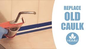 how to replace caulk around your bathroom sink in a few minutes